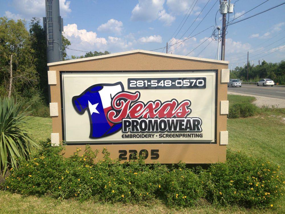 Texas Promowear Exterior Business Sign