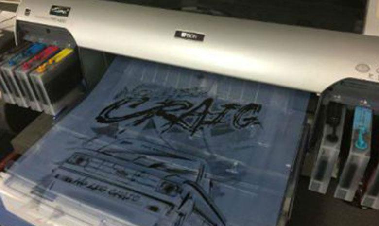 Screenprinting machine